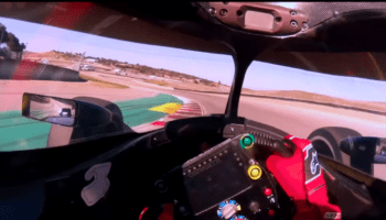 Helmet Cam Grosjean Laguna Seca Indycar