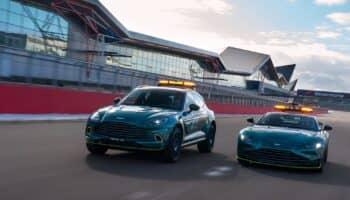 Mercedes AMG GT R rossa e Aston Martin Vantage verde: ecco le nuove Safety Car della F1