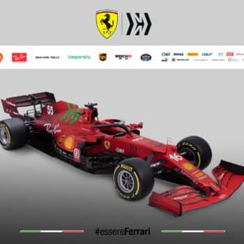 Il Cavallino Rampante toglie i veli alla Ferrari SF21: ecco la monoposto di Leclerc e Sainz