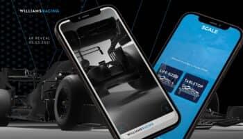 """Salta la presentazione tramite realtà aumentata della Williams: """"Hanno hackerato l'app"""""""