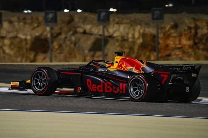 Formula 2, GP Bahrain 2020, Tsunoda