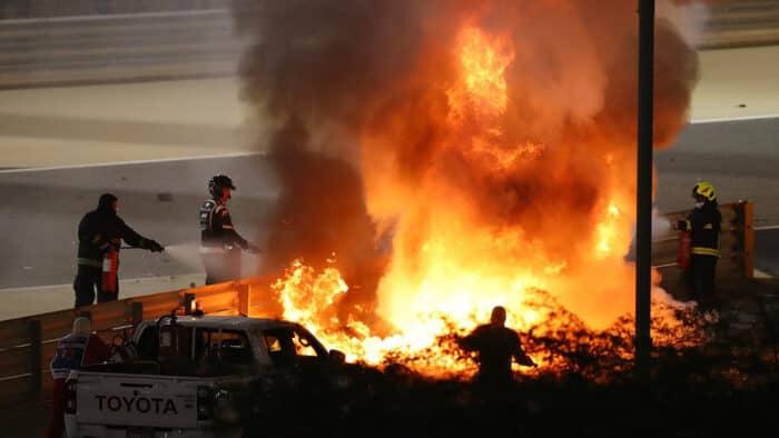 grosjean incidente bahrain 2020