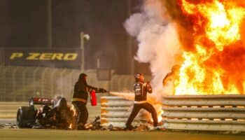 grosjean incidente bahrain formula 1