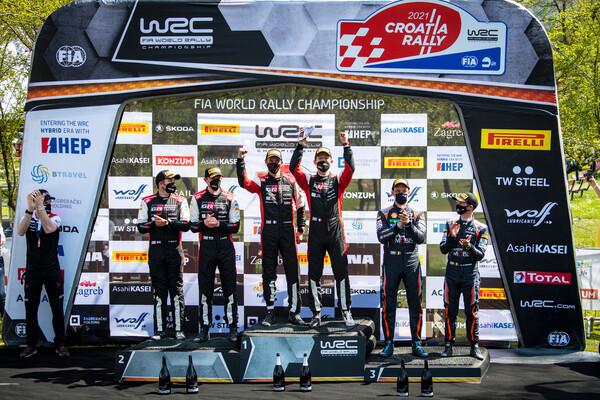 Niente penalità per Sebastien Ogier: il francese conserva la vittoria del Rally di Croazia