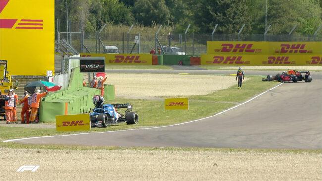 F1, FP1 GP Emilia Romagna 2021