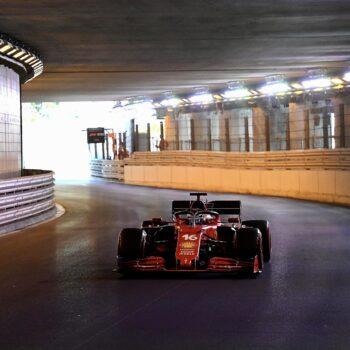 Nelle FP2 del GP di Monaco è 1-2 Ferrari: Leclerc precede Sainz, 3° Hamilton