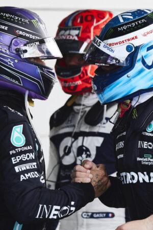 """Bottas: """"Far passare Hamilton prima? Sono qui per correre, non per lasciare passare gli altri"""""""