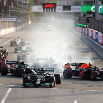 """Hamilton, errore di dito: """"Si è modificato il brake balance, avevo la ripartizione tutta avanti"""""""
