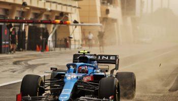 Formula 1, Alpine Bahrain test 2021