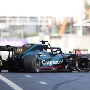 """Pirelli: """"Cedimenti probabilmente causati da detriti"""". E c'era un taglio sulla gomma di Hamilton"""