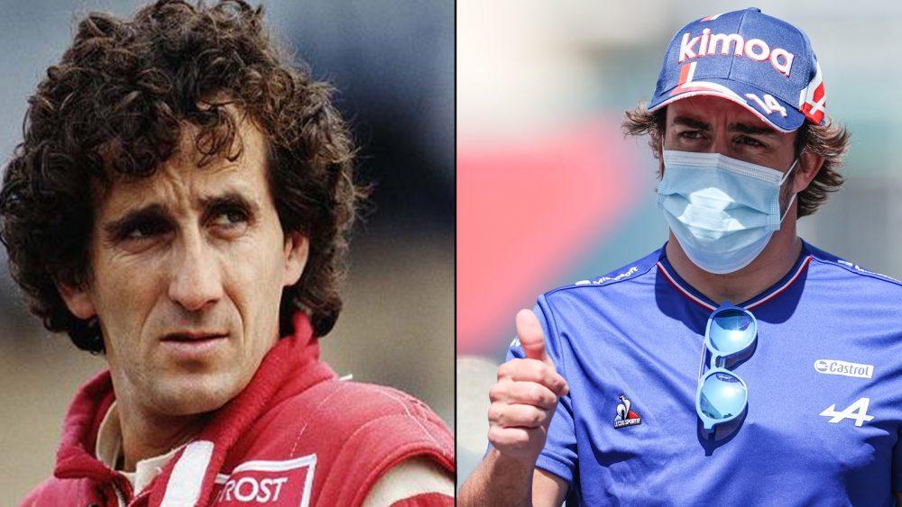 Alain Prost e Fernando Alonso