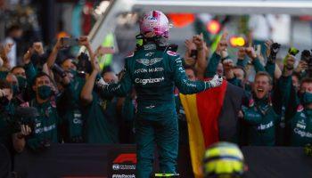 Vettel Aston Martin Baku 2021