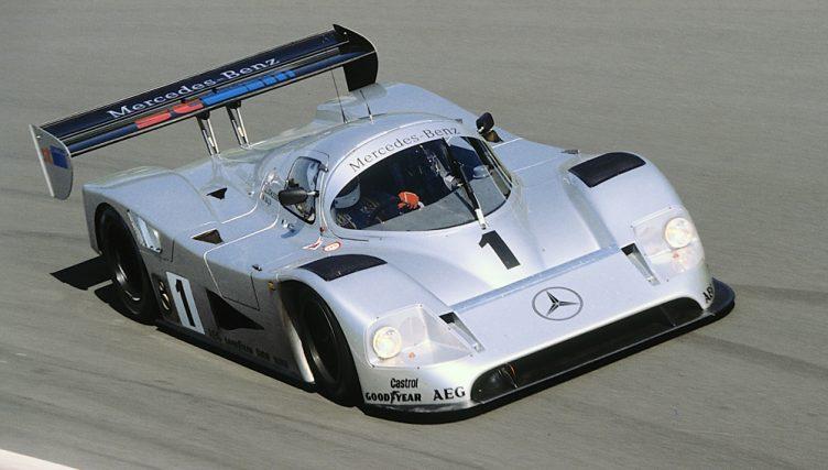 Michael Schumacher a bordo della propria C11