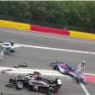 W-Series crash Spa Qualifiche GP Belgio