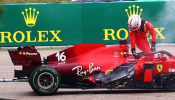 Tegola in Casa Ferrari: la Power Unit di Leclerc è stata danneggiata in modo irreparabile