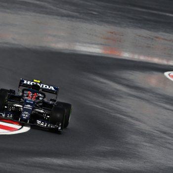 Gasly precede le due Red Bull nelle FP3 bagnate del GP di Turchia. 18° Hamilton