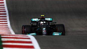Bottas si prende 1° posto e 6° motore nelle FP1 di Austin. Verstappen dietro ad Hamilton